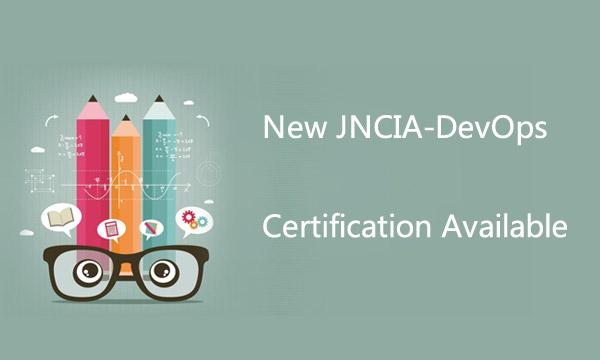 New Juniper JNCIA-DevOps Certification Available