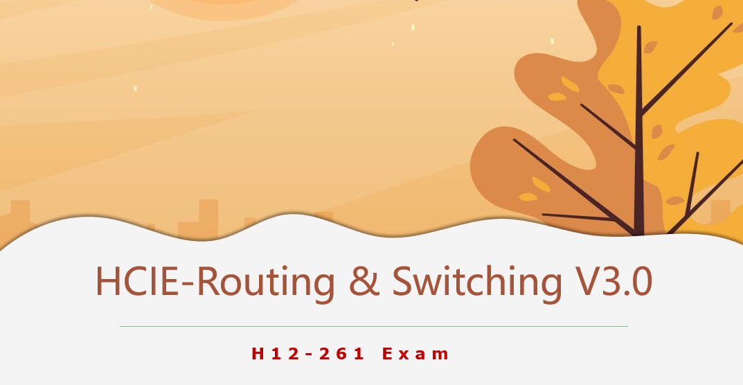 HCIE-Routing & Switching V3.0