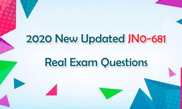 2020 New Updated JNCIP-DC JN0-681 Real Exam Questions