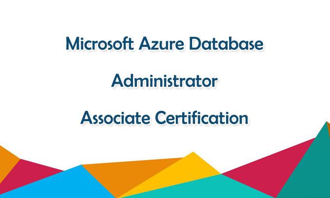 Microsoft Azure Database Administrator Associate Certification